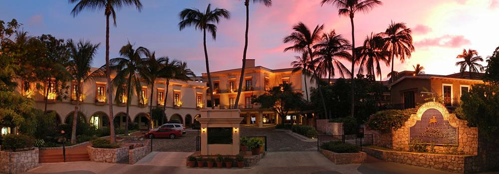 Entrance to Hotel Playa Mazatlan